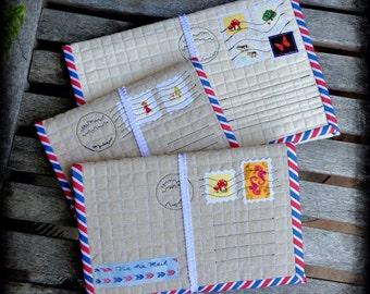 Custom Air Mail iPad Sleeve