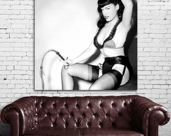 14 Poster Mural Bettie Page Pinup Model Print