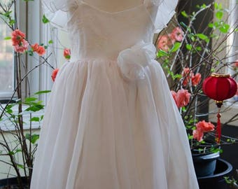 Ivory Rose - Flower girl dress
