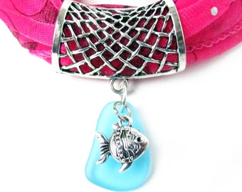Pink butterfly scarf pendant charm metal scarf jewelry slide scarf pendant scarf accessories shawl pin pendant for scarf sea glass scarf aloadofball Gallery