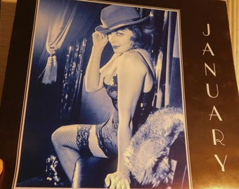 Kit Kat Calendar 1999 Beautiful Girls Risque Poses Cabaret Style Sexy Girls