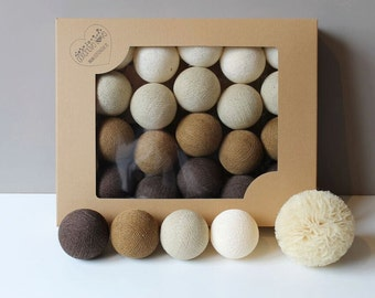 Cotton Balls Natural 10 items