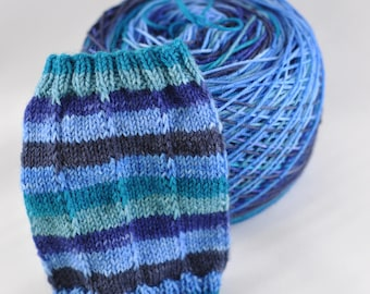 "Self-Striping Yarn - ""Singin' the Blues"""