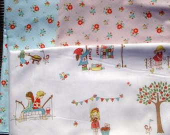 The Simple Life Tasha Noel Riley Blake fabric 3 FQ set or more