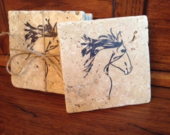 Equestrian Gift, Horse Gift, Horse Decor, Horse Coaster, Gift for Her, Gift for Horse Lover, New Home, Equestrian Decor, Horse Gift Ideas