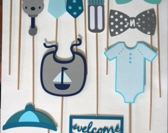 Photo Props for Baby Shower