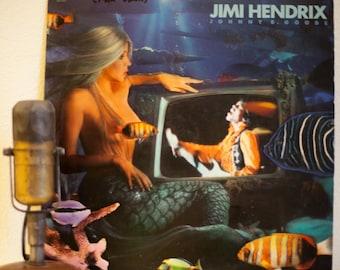 "ON SALE Jimi Hendrix Vinyl Record 5-Track EP Record 1960s Classic Rock Guitar Hero Jam ""Johnny B. Goode""(1986 Capitol w/""The Star Spangled B"