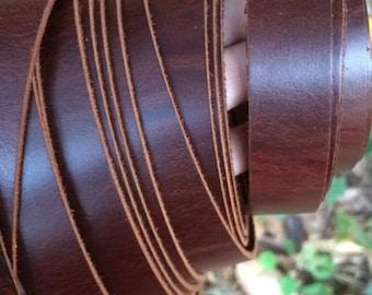 220 cm Leather Strap, Genuine Leather Strap, Leather Handles, Bag Sraps, camera Straps, Belt Straps 2cm flat