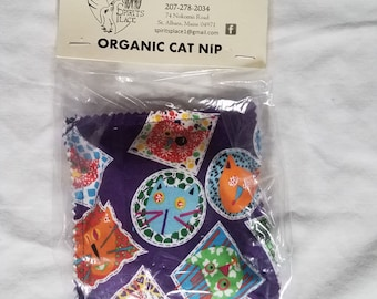 Catnip pillow