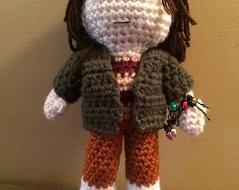 Made to order Joyce Byers Stranger Things inspired amigurumi doll