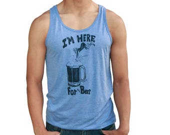 I'm Here for the beer | Soft Lightweight Tank top | Dive