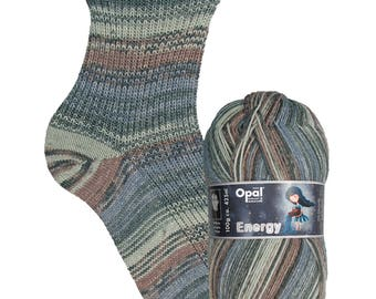 "Opal socks wool ""energy"" f 9405 (Ambition), 4fädig,"