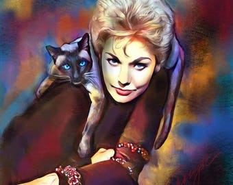 Gillian &  Pye 8 x 11 print