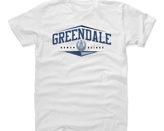 Community Men's Shirt | Greendale Community College Men's Cotton T-Shirt I  Greendale Human Beings