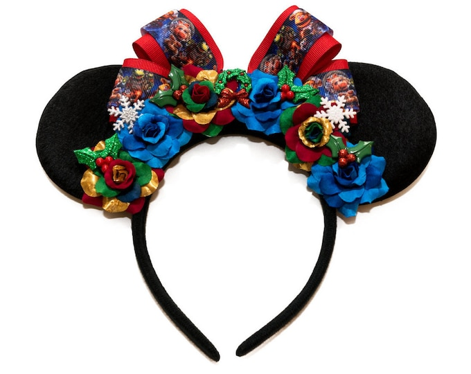 Christmas Carol Mouse Ears Headband