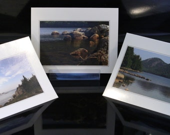 Individual greeting cards - with envelopes - made from my own original photos. All work is ©PegBecksvoort