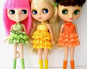 Reserved Listing for Ameli - Custom Blythe Doll Wardrobe