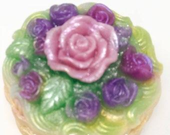 Rose Basket Soap