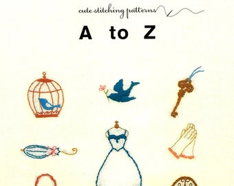 Cute Embroidery Designs and Goods - Craft Book