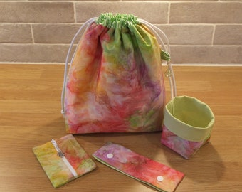 Knitters, Crochet, Crafters Project Bag Set