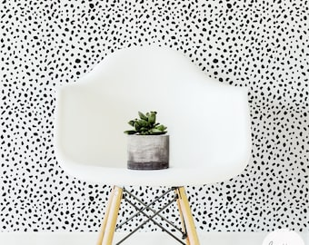 Dalmatian Removable Wallpaper / Traditional or Self adhesive Wallpaper