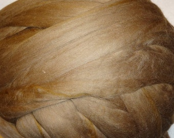 Merino Wool Roving, Wool Roving, Merino Roving, Felting Wool, Spinning Wool, Ashland Bay Fibers - Oak Wool Roving - 8 oz