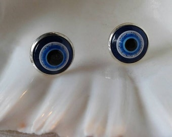 Evil Eye Earrings,Stud Earrings