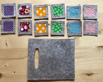 Memory Game. Montessori inspiration.¡¡free shipping¡¡