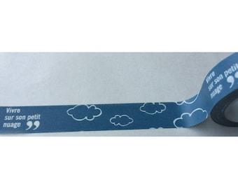 Washi tape (washi) - live on a cloud