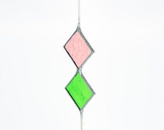 Elegant Stained Glass suncatcher