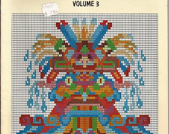 Designs For Beadwork, Applique & Embroidery Volume 3 Craft Pattern Book