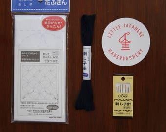 LJH Cathedral Window Sashiko Kit