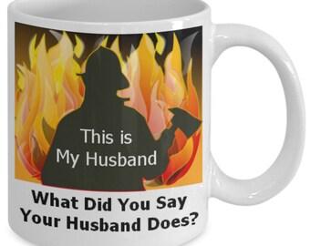Firefighter Wife, Fireman Wife, Firefighter Funny, Fireman Funny, Firefighter, Fireman, Firefighter Husband, Fireman Husband, Fireman Love