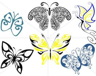 Butterfly SVG Set Butterflies