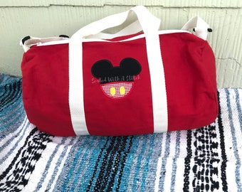 Mickey Mouse Small Duffle Bag - Small Diaper Bag - Disney Bag