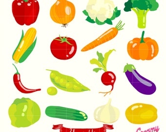50 off fruits and vegetables clipart fruit clip art vegetable rh etsystudio com clip art vegetables free clipart vegetable lasagna