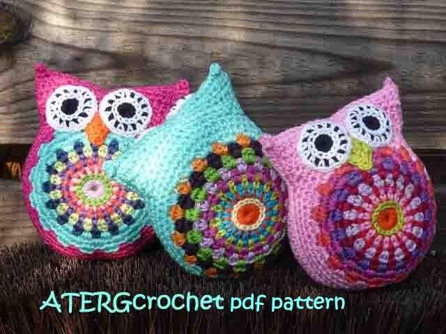 Amigurumi Pattern Free Owl : Pattern cuddly owl by atergcrochet