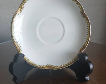 Haviland & Co Limoges Anjou Saucers