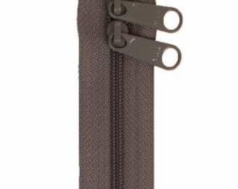 """Handbag Zipper 40"""" Double Slide Extra Long Pulls Colors"""