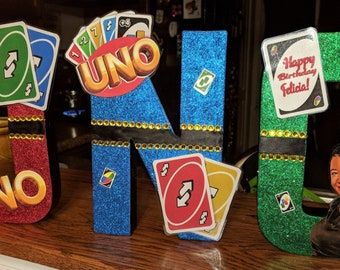 UNO Craft Letters