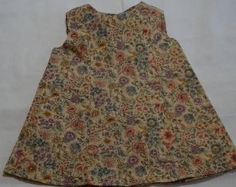 18 Inch Doll Dress, Flowers