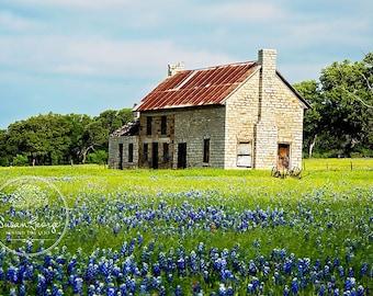 The Bluebonnet House : Marble Falls Texas