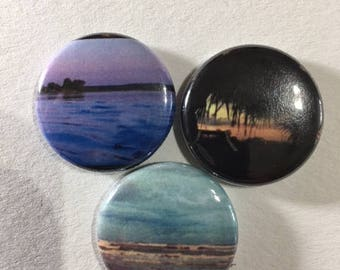 Seaside Buttons