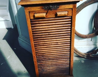 Old wooden Shutter cabinet