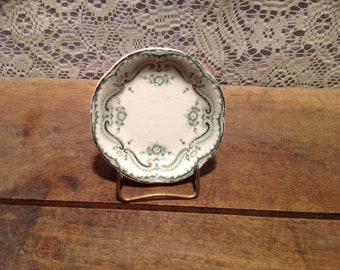 Johnson Brothers England Regis Teal Butter Pat