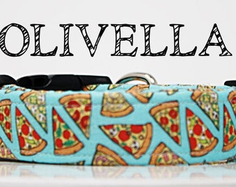 Olivella - Pizza Handmade Collar | Combo, Pepperoni