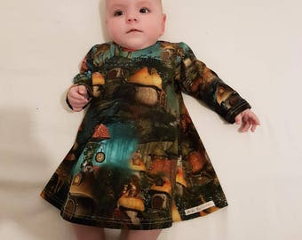 """Child dress Jersey patterns fantasies """"Aria Collection"""""""