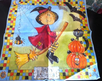 Witch Halloween paper towel