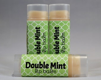 Doublemint Sweetened  Lip Balm-Mint-Chapstick-Lip Butter-bath and body