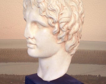 For Sale Alexander the Great Macedonian Bust- King Of Vergina